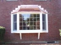 Bay with copper roof | Outside Remodel | Pinterest | Shake ...