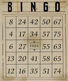 Free Bingo Cards For You Isis Och Lobbies