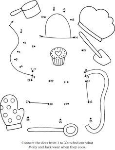 Cooking and Baking Coloring Pages
