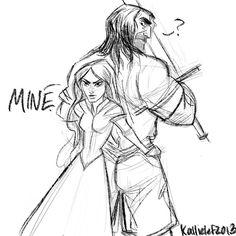The Unkiss: Sansa and Sandor by sarasalazar.deviantart.com