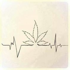 20 Weed Heart Rate Tattoos Ideas And Designs
