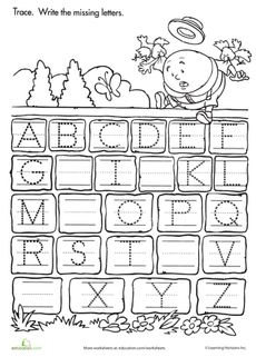 FREE Alphabet and Letter Sounds charts (color and black