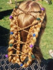 middle age hair
