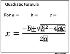 1000+ images about Math- Quadratic Functions on Pinterest
