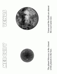 Solar System for Kids planets-cryptogram