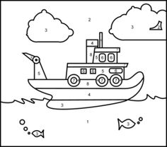 Lighthouse dot to dot 1-21, kindergarten math worksheet