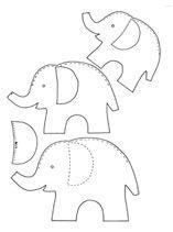 elephant applique http://www.pinterest.com/TomsCraftyWife