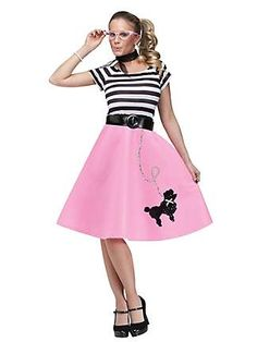 Poodle Skirt 50 Poodles And Back To