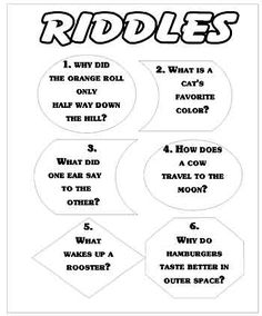 Riddles for kids