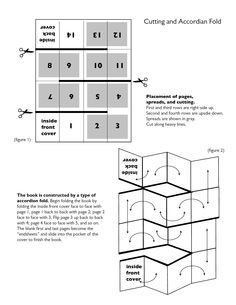 Thinking Day passport folding: Passport from one sheet of