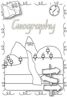 Geography, Free printable and Roads on Pinterest