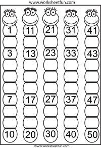 1000+ images about números del 1 al 50 on Pinterest