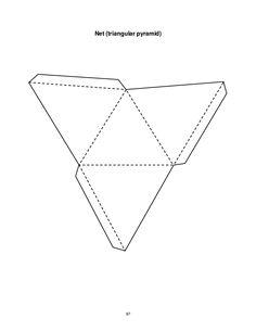 Printable 3D cube template. Color it, cut it out, fold it