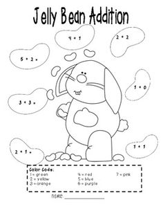 April's Learning Center- a worksheet after a Math lesson