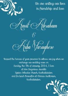 Wedding Invitations Ecards Hindu