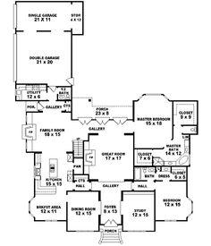 Open floor, Floors and Floor plans on Pinterest