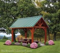 unique screened in gazebos - Google Search | A BIT OF THIS ...