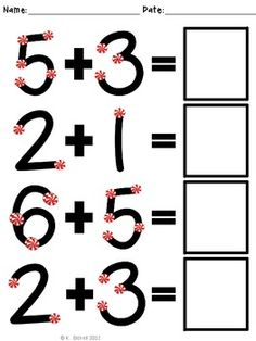 FREE Extra Large: Single Digit Addition Practice with