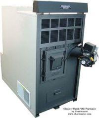 Benjamin FS140 Combination Oil/Wood Hot Air Furnace | Wood ...