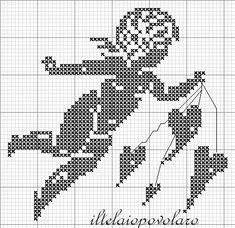 Professione Donna: Schemi per il filet: Coperta a quadrati