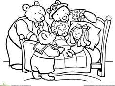 Minibook: Goldilocks and the Three Bears A Retelling