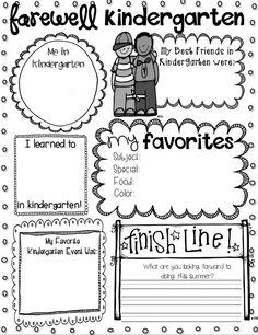 Gotta change Kindergarten to preschool but I am going to