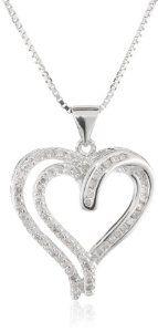 1000+ ideas about Diamond Heart Necklaces on Pinterest