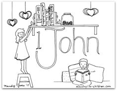 This free coloring page is based on the Book of