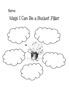 Printable drops for bucket-fillers (Counselor Lessons