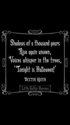 Tonight us Halloween