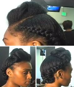 Natural Hair Journey Growth #4a #4b #curls My Hair Journey