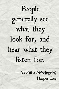 To KILL A MOCKINGBIRD // Harper Lee // quote poster