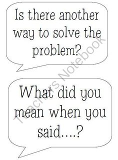 1000+ images about Accountable Talk on Pinterest