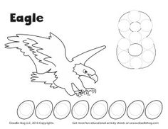 Animals That Lay Egg: Counting Numbers From 1-10 Worksheet