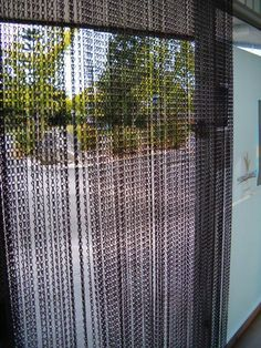 I Am Going To Make This Copper Chain Screen For The Door To My