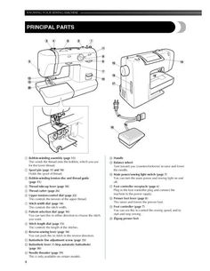 Morse 5400 Sewing Machine Instruction Manual. Morse 5400