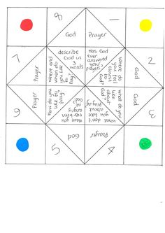 1000+ images about Paper Fortune Teller Game on Pinterest