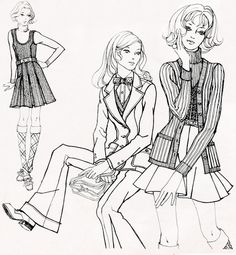 1000+ images about Zan 60s & 70s Fashions and Memories on