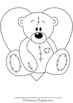 Tatty teddy, Coloring and Coloring pages on Pinterest