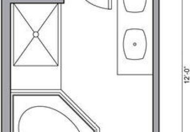 Small Bathroom Layout 5 X 7