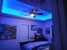 Color Changing Led Lights For The Bedroom Strip Lighting Blue Energyefficient