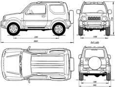 You don't need to have a tent when you have a Suzuki Jimny