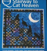 Cat Stairway to Heaven Quilt Adaptation of McCall's free ...