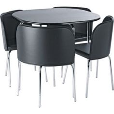 Round Table With Chairs That Fit Under Google Search Home Decor Pinterest Shops Dubai