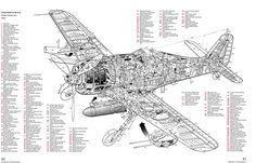 PC-12 Pratt & Whitney Canada PT6A-67 turboprop cutaway
