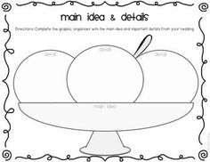 1000+ images about Reading-Main Idea/Details on Pinterest