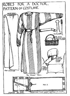 Dag patterns (source: Medieval Market). Might consider