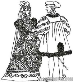 Renaissance clothing, Drawings of and Renaissance on Pinterest