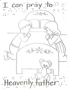 5 Finger Prayer Coloring Sheet Coloring Pages