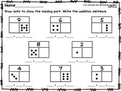 Addition, subtraction, missing number, related facts